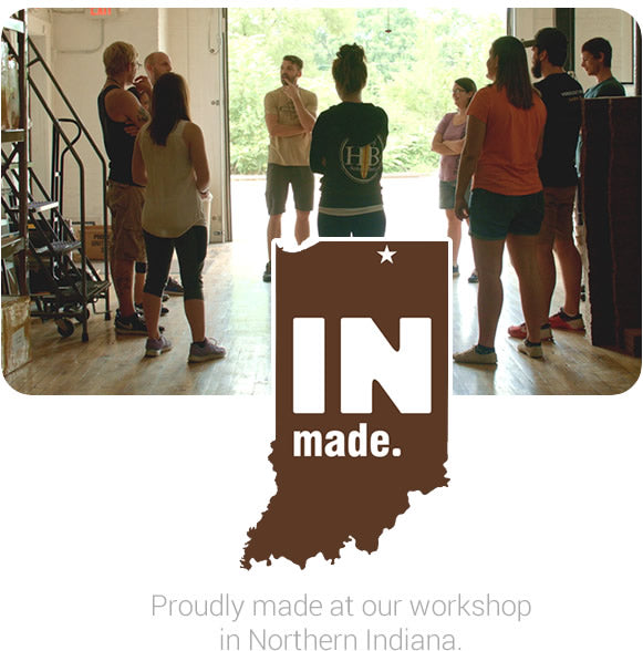 Made in Indiana by Carved